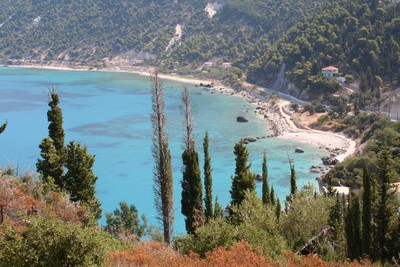 Agios Nikitas cestou na Milos