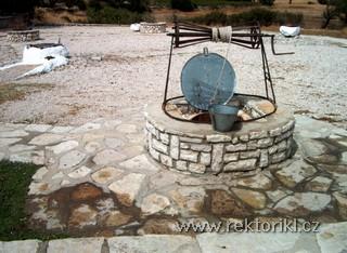 Studně na Agios Donatos