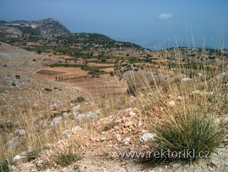 Pohled směrem k Agios Donatos